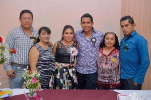22102016 Rafael, Isela, Isela, José Manuel, María Agustina y Jorge.