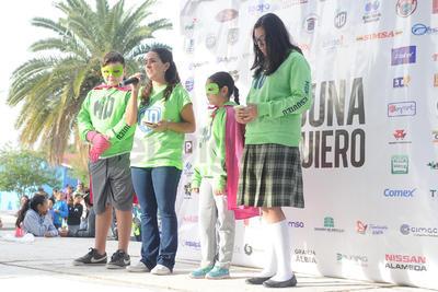 En la escuela primaria Agustín Melgar del ejido La Unión se dio inicio la campaña Laguna Yo Te Quiero Lista.