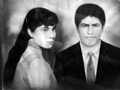 23102016 Juanita Limón Fuentes (f) y Adán Pérez de la Cruz (f) en la década de los 50.