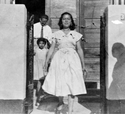 23102016 Esther Suárez García en 1956.