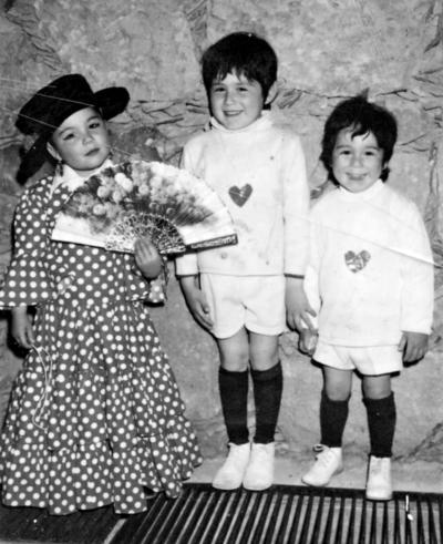 23102016 Miguel Ángel, Fernando y Martha Patricia Benito Hernández en 1978.