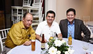 23102016 Leonardo Muñoz, Miguel Amaury y Jorge Galván.