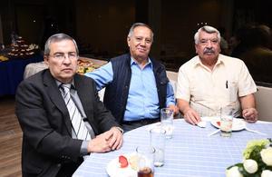 23102016 Jorge del Valle, Antonio García y Miguel Carrizales.