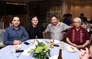 23102016 Humberto Banda Torres, Mario Alberto Gutiérrez, Jorge Campos y Abelardo de J. Castrejón.