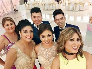 23102016 Rocío Uvalle, Brenda Uvalle, Paola Pacheco, Verónica Uvalle, Juan Carlos Uvalle y Miguel Cisneros.