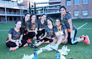 24102016 Cristina, Andrea, Diana, Salma, Katherine, Paulina y Andrea.