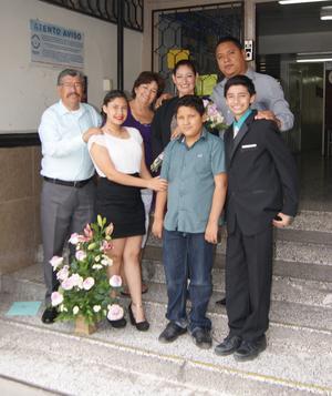 26102016 EN RECIENTE FESTEJO.  Familia Valdez Gallegos y Gallegos Hernández.