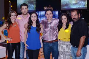 27102016 Yuri, Chava, Mónica, Roberto, Ana y Toño.