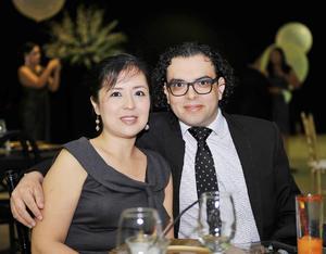 28102016 Milagros García y Alejandro Aguilera.