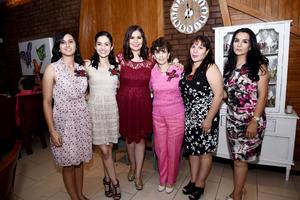 28102016 Daniela, Celina, Marisol, Celina, Lina y Laura.