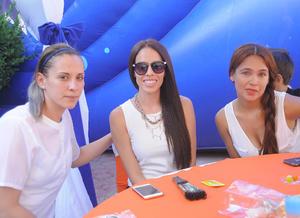 Irasema, Sandra y Eunice