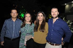 José Carlos, Pily, Ana Sofía y Óscar