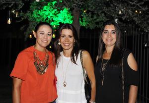 Pamela, Ana Cristina y Cecilia