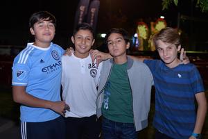 Fernando, Jaime, Fer y Josepo