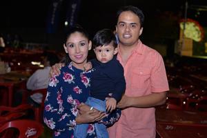 Janeth, Darío y Sergio
