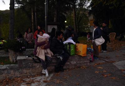 Familias se vieron afectadas por los derrumbes en sus viviendas.