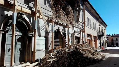 """""""El terremoto de hoy se registró en el mismo sistema frágil y forma parte de la secuencia comenzada en agosto"""", explicó el sismólogo Alberto Michelini, del INGV."""