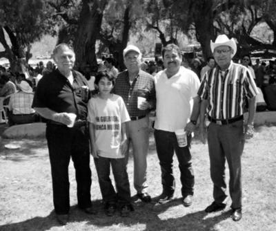 30102016 Reunión en Viesca, Coahuila: Rodolfo Álvarez, Otón Villalobos y Rodolfo Ramírez.
