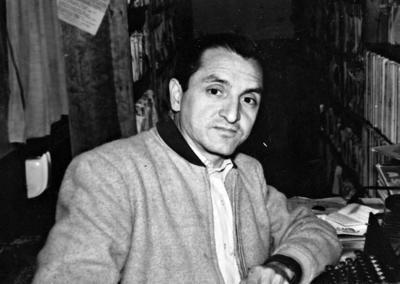 30102016 José Manuel Cueto, discotecario de XEBP en 1955.