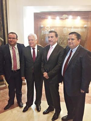 30102016 Jesús A. Mendoza Aguirre, Jesús G. Sotomayor Garza, Javier Laynez Potisek y Jesús G. Sotomayor Hernández.