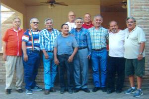 30102016 Reunión de amigos de Las Banquetas Altas de Gómez Palacio, Durango.