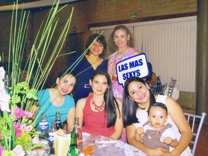 01112016 Martha, Lupita, Ana, Amelia y Ana María en pasado evento social.