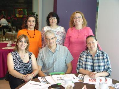 03112016 Anita, Jaime, Caty, Sandra, Gaby y Sandra.