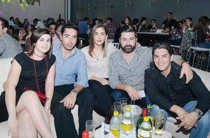 05112016 AMIGOS.  María, Boyardo, Cristy, Luis y Gustavo.