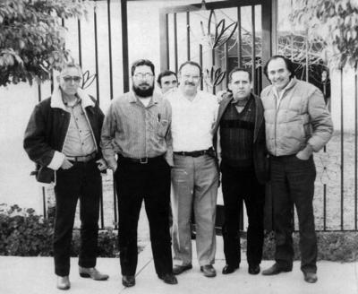 06112016 Raúl Zapico (f), Jesús Burciaga, Eliseo Veloz, Jesús Reyes, Fernando Rangel y Carlos Delgado.