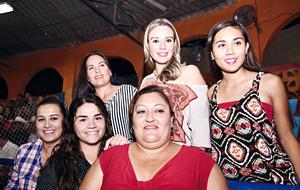 07112016 EN CHARREADA.  Cristina, Karina, Violeta, Paola, Fernanda e Ivanna.