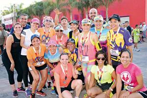 07112016 FELICES.  Integrantes del Club de Atletismo Laguna Runners.