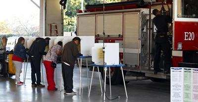 Miles participaron en el proceso en California.