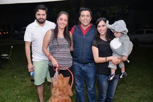 08112016 Hugo, María Teresa, Javier, Griselda y Javi.