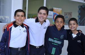08112016 Max, Jesús Alonso, Alessandro y Javier.