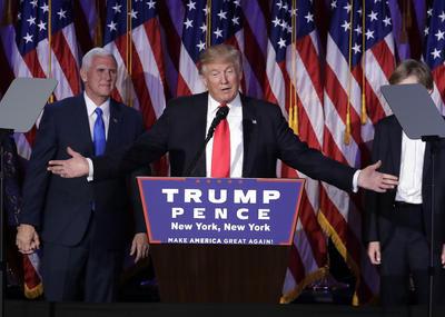 Contra todo pronóstico, el republicano Donald Trump, un magnate sin experiencia política alguna, será a partir del 20 de enero de 2017 presidente de Estados Unidos de América.