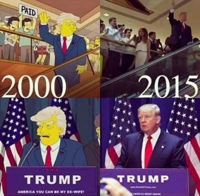 Los Simpson, siempre efectivos en sus predicciones.