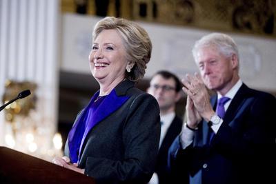 Se dijo orgullosa de su histórica campaña y agradeció reiteradamente el apoyo de sus seguidores.