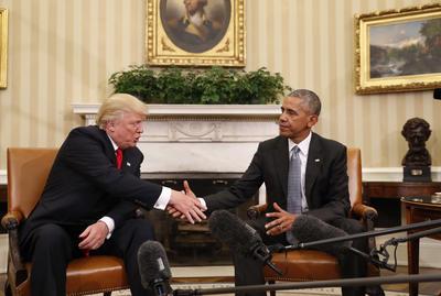 """Señaló que la reunión en la Oficina Oval fue un """"excelente"""" diálogo sobre política nacional e internacional."""
