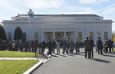 La reunión se realizó en la Casa Blanca, en Washington.