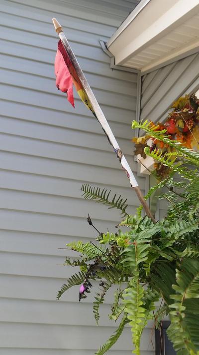 En Rochester, Nueva York, fue quemada una bandera gay colocada en el exterior de una casa.