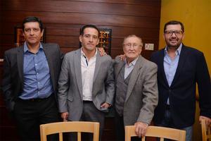 11112016 Dr. Santiago Ávalos Méndez, Benjamín Ávalos Méndez, Dr. Santiago Ávalos Rodríguez y Juan Ávalos Méndez.