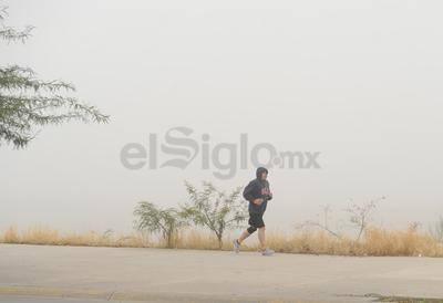 La Laguna amaneció además con temperaturas de aproximadamente 14 grados.