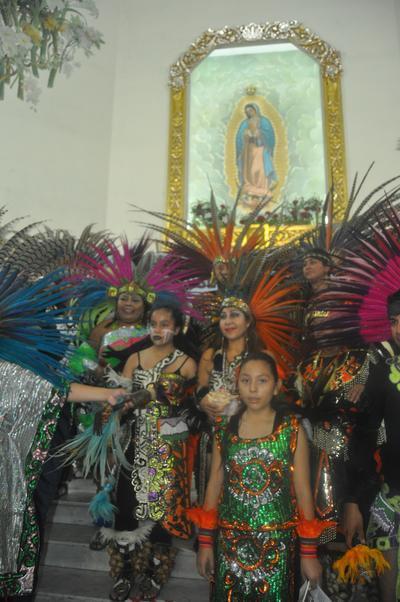 Las peregrinaciones se dan hacia la parroquia de Nuestra Señora de Guadalupe de esta ciudad.