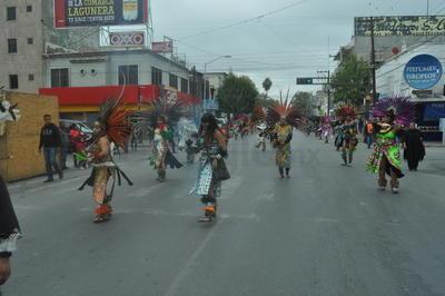 Celebran el 485 aniversario de la aparición de la Virgen de Guadalupe al indio San Juan Diego.