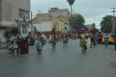 Las danzas inauguraron esta etapa de devoción católica.