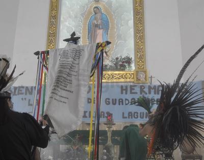 Inició la fiesta Guadalupana en Torreón.