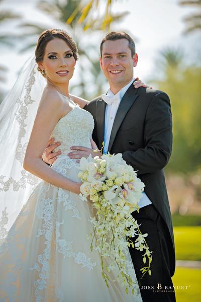 13112016 El 29 de octubre fue el día elegido por Geraldine Martínez Hernández y Juan Manuel de los Reyes Córdova para unir sus vidas en feliz matrimonio. - Joss Banuet Fotografía.