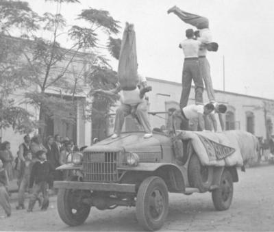 13112016 Pentatlón Deportivo Militar Universitario, Zona Coahuila de la Cd. de Torreón, el 20 de noviembre de 1946.