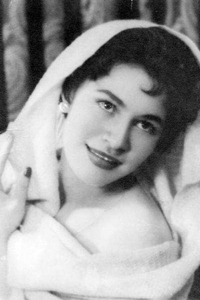 13112016 Conchita Hernández de Sandoval en 1957.