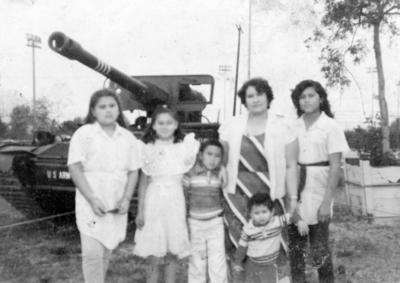 13112016 Familia Rivera Hernández en Los Ángeles, California, en 1984.